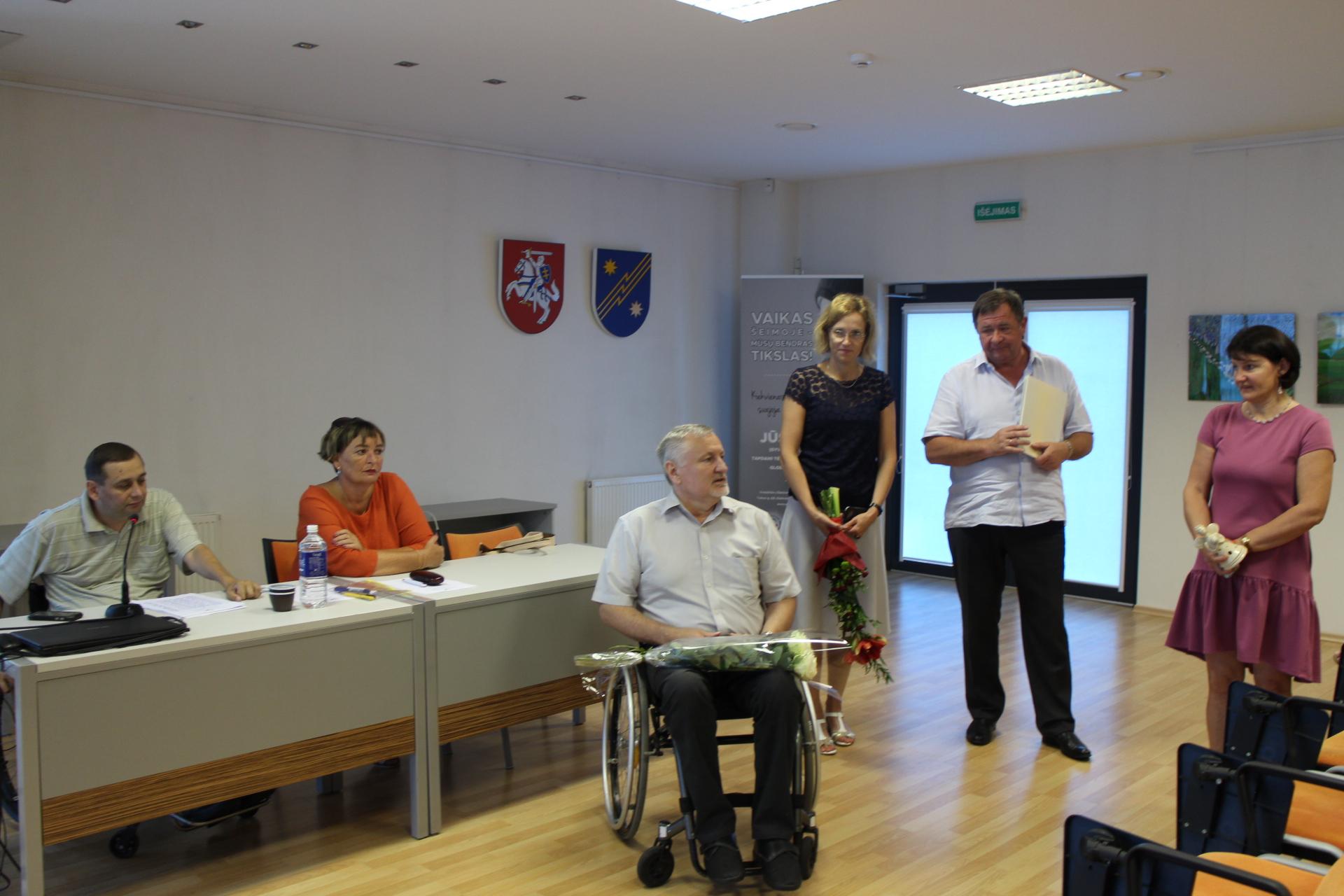 Neįgaliųjų draugija rinks naują vadovą
