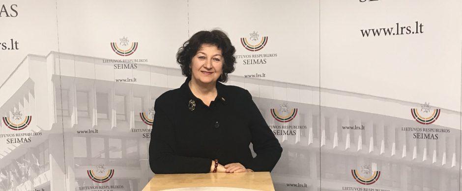 Seimo narė Laimutė Matkevičienė: susitelkime prieš COVID-19