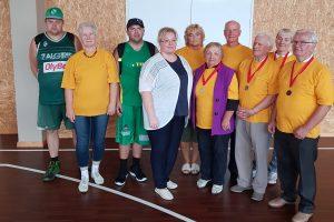 Elektrėnų neįgaliųjų draugijos sportininkai
