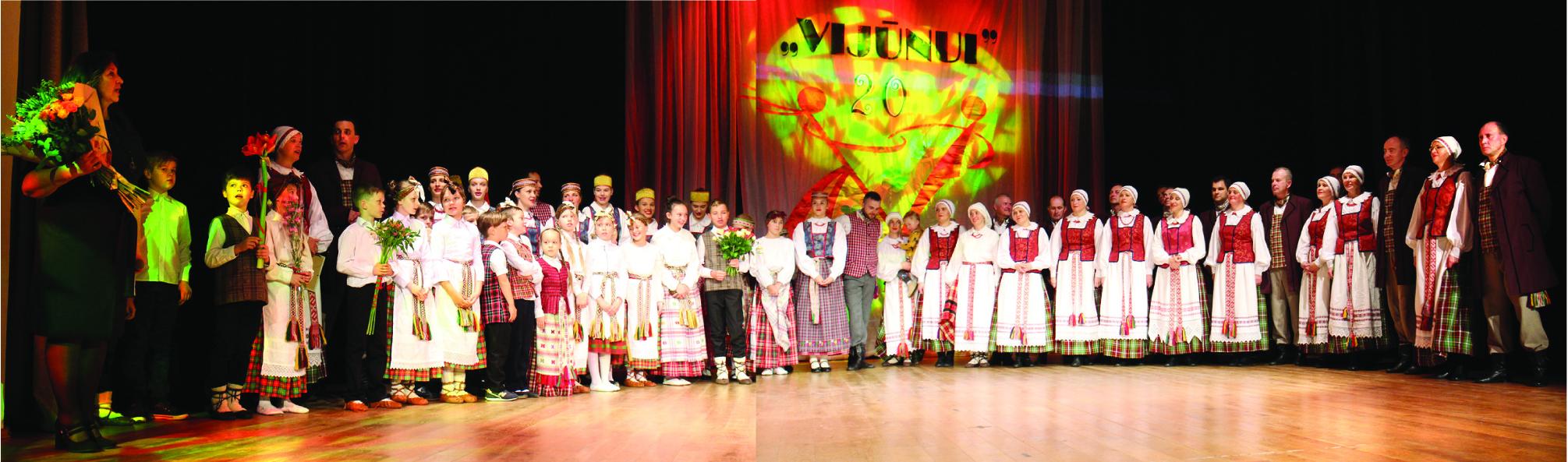 """""""Vijūnas"""" šventė jubiliejų"""