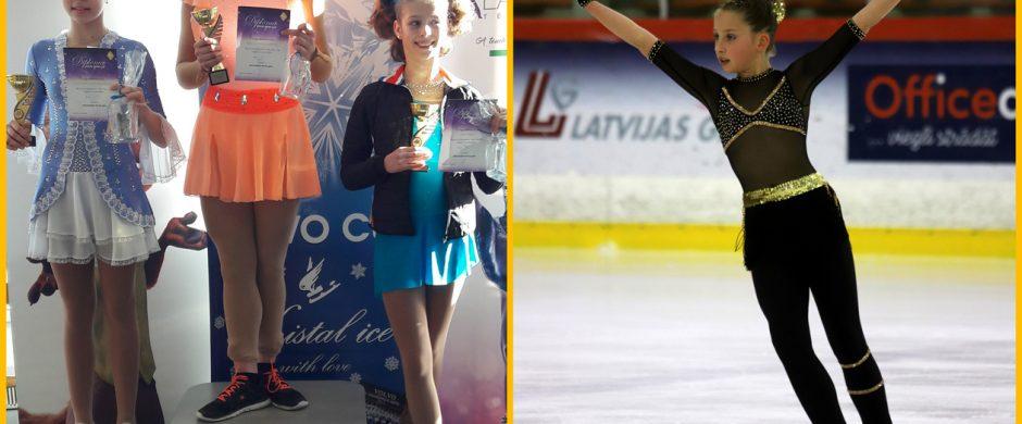 Sėkminga dailiojo čiuožimo sezono pabaiga