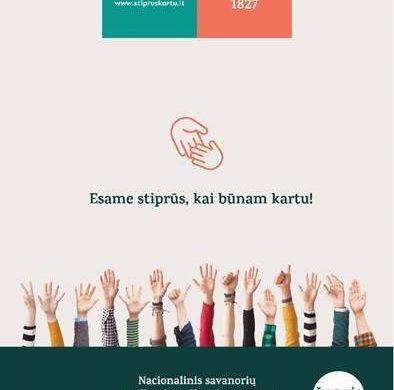 """E. Jakilaitis: """"Stiprūs Kartu"""" padės visiems, kuriems pagalba bus reikalinga"""