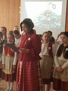Vasario 16 - ajai skirtą renginį veda Elena Volosevičienė