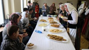 Sirų ir uzbekų patiekalų degustacija