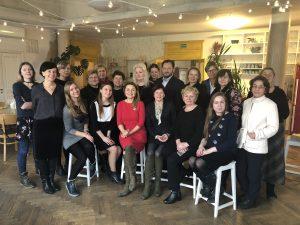 Šį kartą Beatos virtuvėje svečiavosi regioninės žiniasklaidos žurnalistai ir leidėjai