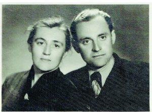 Genovaitė ir Juozas Stepankevičiai prieš 65 metus