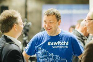 """Europarlamentaras A.Guoga: Lietuvoje dabar daugiausiai galimybių turi talentai, pasiruošę dirbti skaitmeninėje rinkoje. Suplanuokite dalyvauti modernių technologijų ir verslumo renginyje """"Switch!"""" rugsėjo 20 d. Vilniuje"""