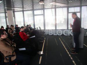 """Kalba """"Blockchain"""" centro įkūrėjas Antanas Guoga"""