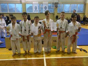 Iš kairės: R.Sabonis, K. Pulauskas, Ž. Karalevičius, L.Kybartas, A. Stefanovič, D. Mozgo