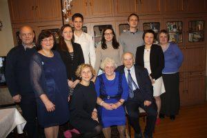 Darnioji ir patriotiškoji Gražinos ir Vlado Steckevičių šeima