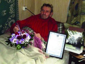 85-erių sulaukęs Aleksandras Poguželskas