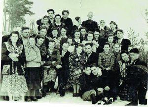 Orševskių giminė 1955 metais