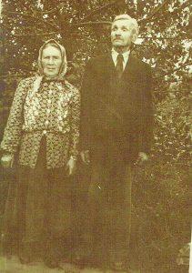 Evaldo ir Almos seneliai Elenora ir Martynas Petkevičiai