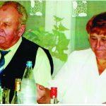 Albinas Česonis su žmona Albina