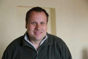 """UAB """"Kestarolis"""" direktorius Kęstutis Žemaitis džiaugiasi gauta parama ir planuoja vėl pasinaudoti galimybe įsigyti naujos miško technikos"""