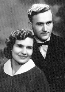 Tėveliai Elena ir Antanas Telišauskai