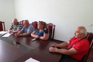 Audrius Balnys, Jonas Alimas, Laura Urbonienė ir Stasys Bikauskas