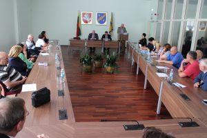 Bendruomenių pirmininkų susitikimas su savivaldybės vadovais