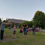 Žaidimai po atviru dangumi sudomino ir vaikus, ir suaugusiuosius