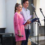 Renginio vedėjai: vieviškis Lukas Paškevičius ir kauniškė Ugnė Valterytė