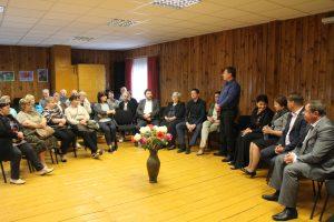 Į susitikimą su Liberalų sąjūdžio frakcija savivaldybės taryboje kazokiškiečių susirinko daugiau nei politikų