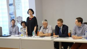 Iš kairės: Martynas Norbutas, Laimutė Matkevičienė, Kristina Paulikė, Jonas Jarutis, Mindaugas Puidokas, Tomas Tomilinas