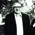 Antanas Rinkevičius su žmona Veronika ir žmonos sese Jadvyga Žekiene (kairėje)
