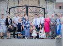 Lengvinų giminė, tęsianti senųjų kartų darbus Lietuvai. Proanūkės Elijos Lengvinaitės krikštynos Vievio bažnyčioje