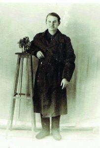 J. Ramanauskas tremtyje apie 1954 m.