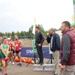 Sėkmės bėgikams linkėjo Elektrėnų savivaldybės sporto centro direktorius Alfredas Vainauskas