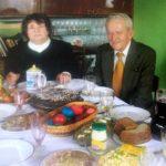 Laima ir Juozas Tidikiai per 2009-ųjų Velykas, paskutinė jų nuotrauka drauge