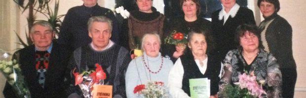 Po knygelės apie Strėvininkų savanorius pristatymo su šio krašto savanorių ainiais