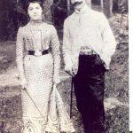 Polocko dvarininkai Marija ir Vaclovas Žeimantai. 1912 metai