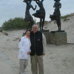 Šventojoje su žmona Živile