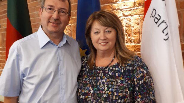 Arvydas Vyšniauskas ir Vilija Blinkevičiūtė