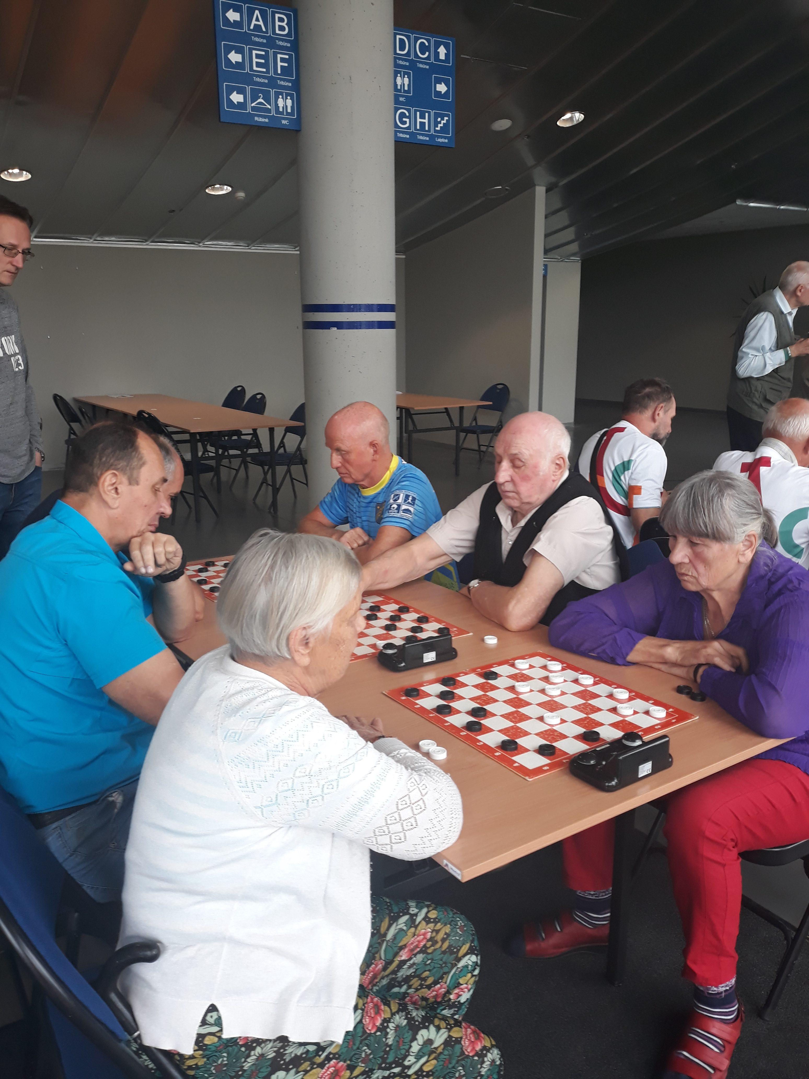 Seniūnijų sporto žaidynėse