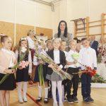 Kietaviškių pagrindinės mokyklos pirmokai su mokytoja Diana Liupševičiene