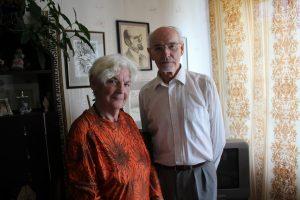 Juozas Kundrotas su žmona Regina