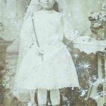 Rašytojo mama Marijona Amerikoje, kur ją buvo išsivežę tėvai