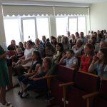 Naujoves Elektrėnų meno mokykloje pristato direktoriaus pavaduotoja ugdymui Rasa Hopenienė