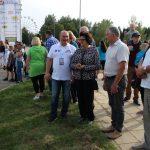 Pasveikinti lenktynininkų atvyko Seimo narė Laimutė Matkevičienė