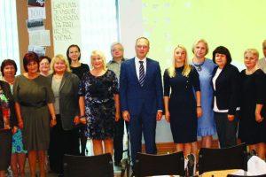 Savivaldybės švietimo  įstaigų vadovai  pasiruošę naujiems iššūkiams