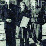 Kazokiškėse su auklėtoju ir mokslo draugu Pranu Žilinsku