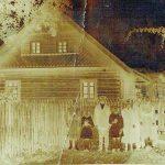 Močiutės Elenos namas Grabijoluose, kuriame J. Petrauskaitė - Didžiapetrienė praleido didžiąją dalį vaikystės ir jaunystės