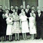 Vievio vidurinės mokyklos 1957 m. laidos abiturientai
