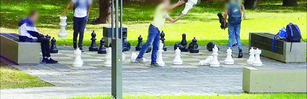 Dėl chuliganiškų jaunuolių veiksmų policija pradėjo ikiteisminį tyrimą