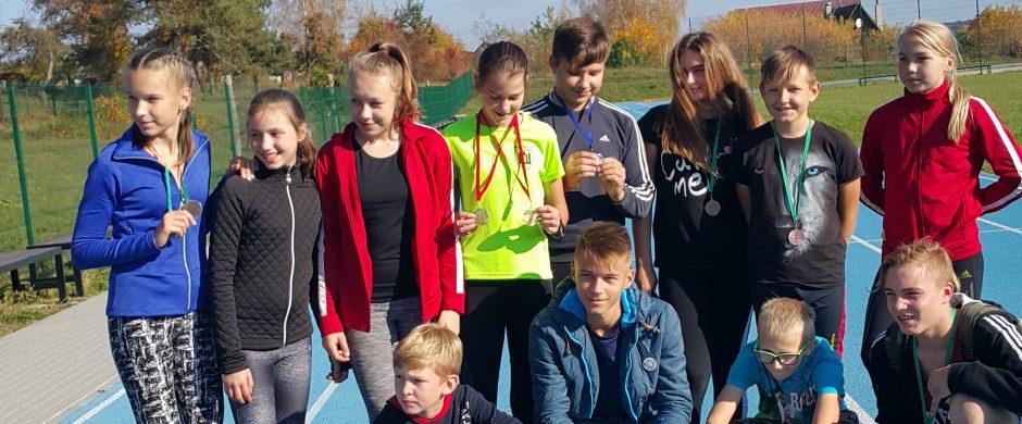 Jaunučių ir vaikų varžybos Pabradėje