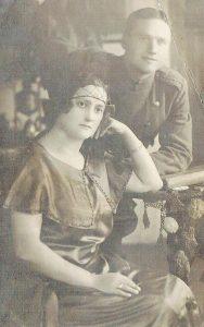 Stefanija Sirevičiūtė su broliu - Barboriškių dvaro savininkai