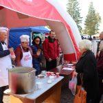 Socialdemokratų partijos Elektrėnų skyriaus nariai tradiciškai vaišino sriuba