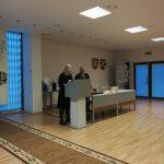 Endokrinologijos slaugytoja R. Žilinskienė ir A. Sodonis veda viktoriną